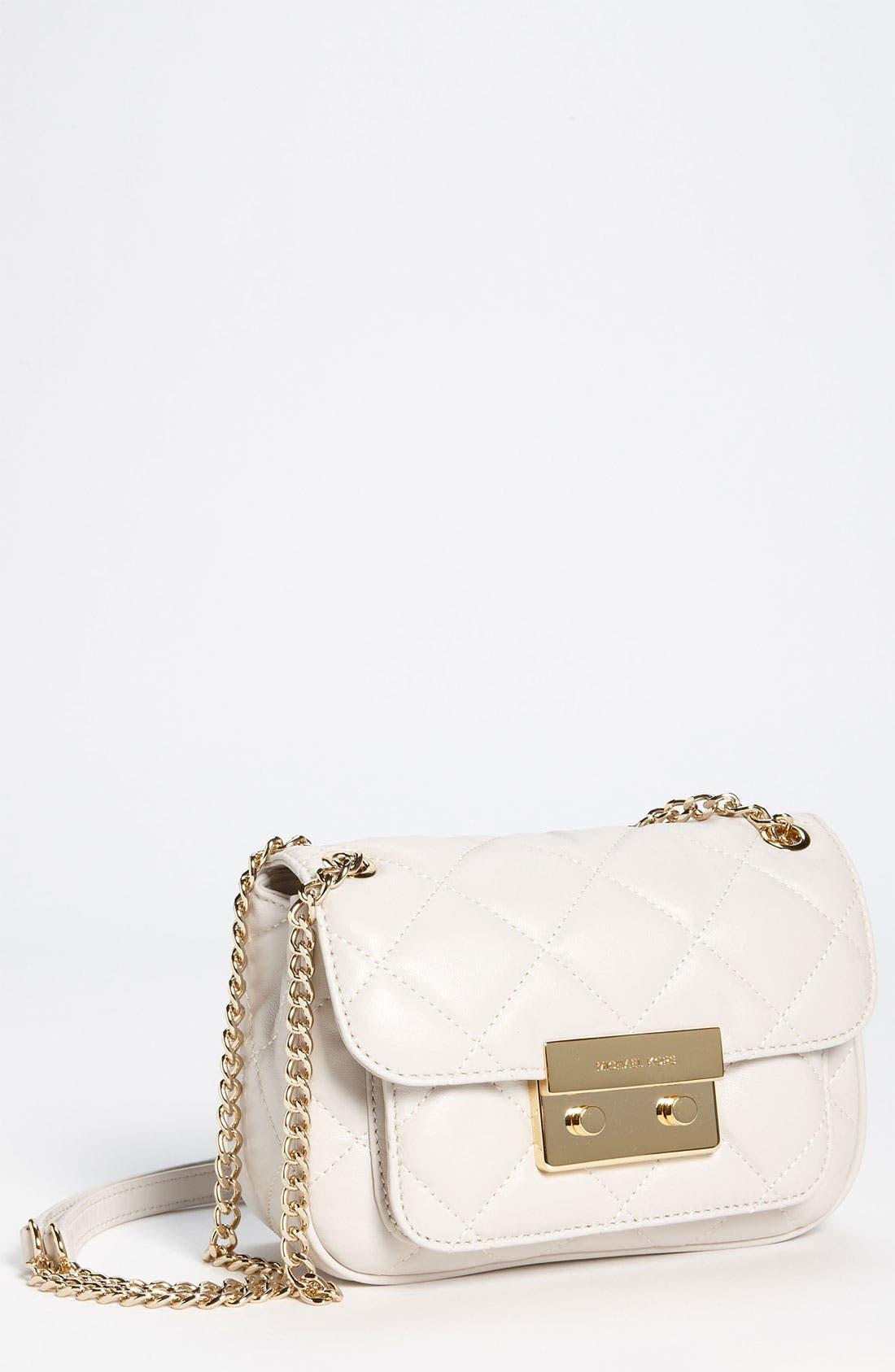 Main Image - MICHAEL Michael Kors 'Sloan - Small' Quilted Shoulder Bag