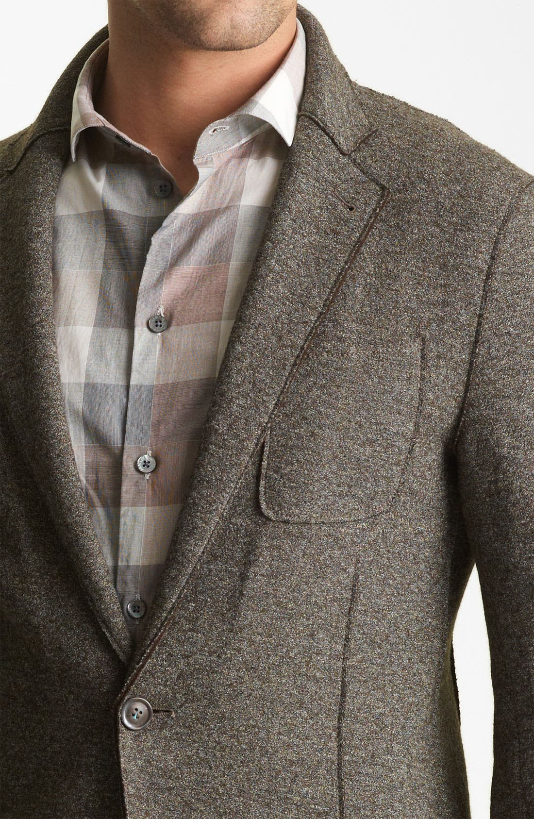 Alternate Image 3  - Armani Collezioni Wool Blend Sportcoat