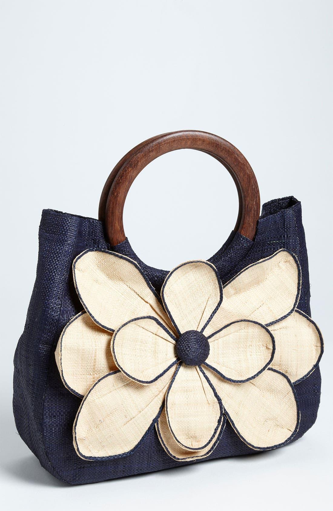 Main Image - Mar y Sol 'Guadalupe' Straw Shopper