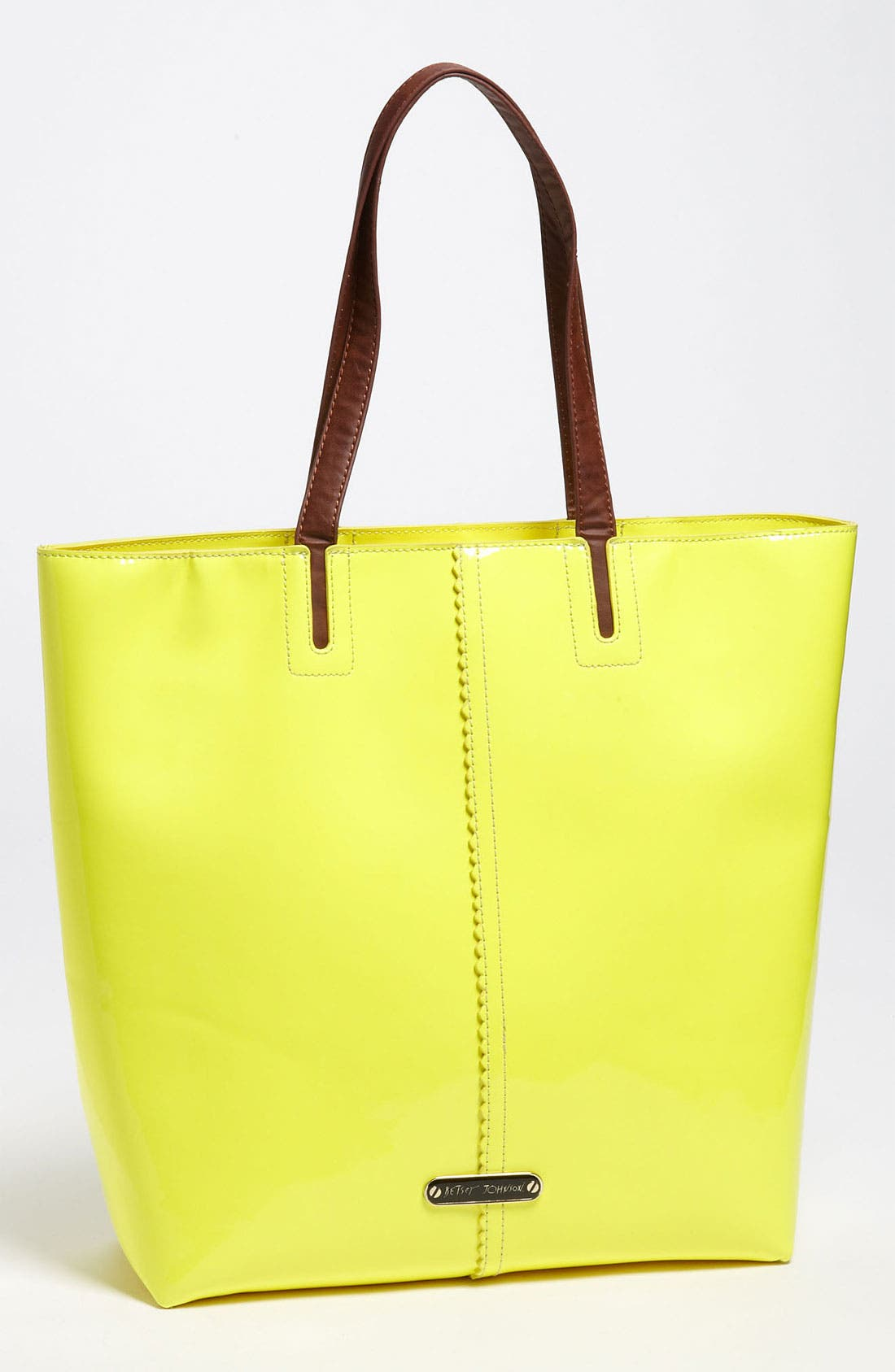Alternate Image 1 Selected - Betsey Johnson Neon Tote