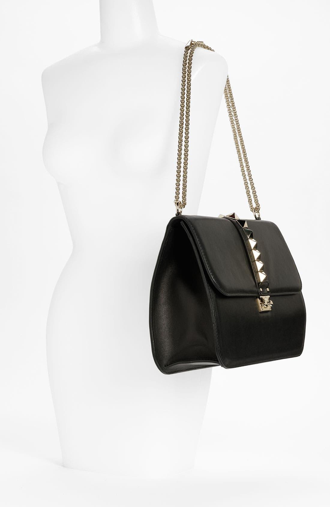 Alternate Image 2  - Valentino 'Grande Lock' Leather Shoulder Bag