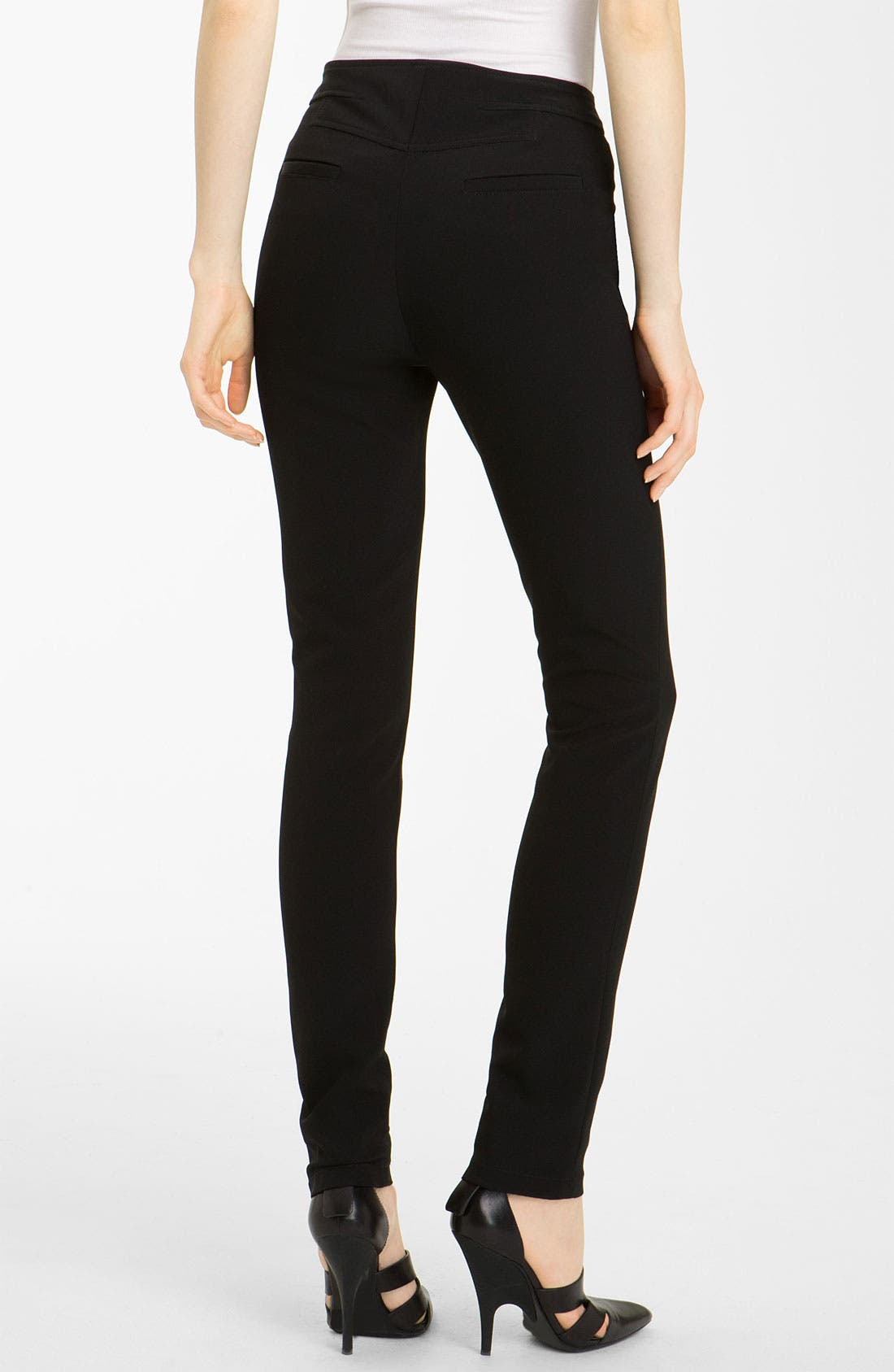 Alternate Image 2  - Alexander Wang Skinny Double Fly Pants