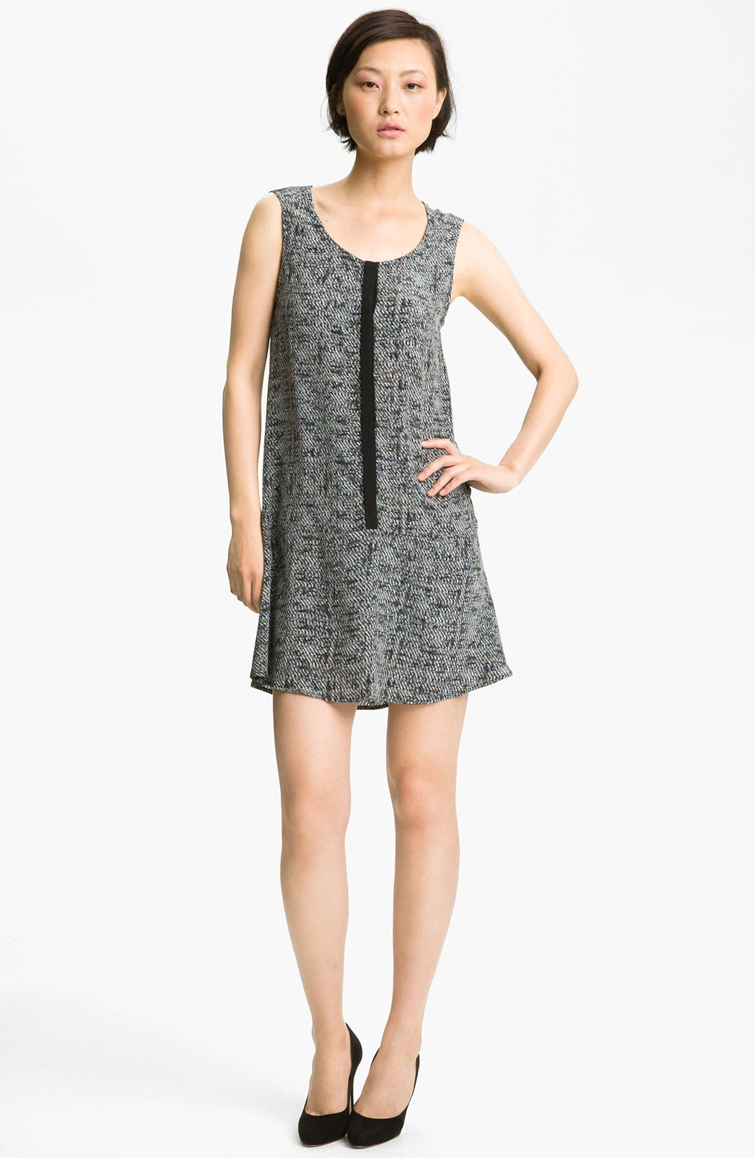 Main Image - A.L.C. 'Donahue' Print Silk Dress