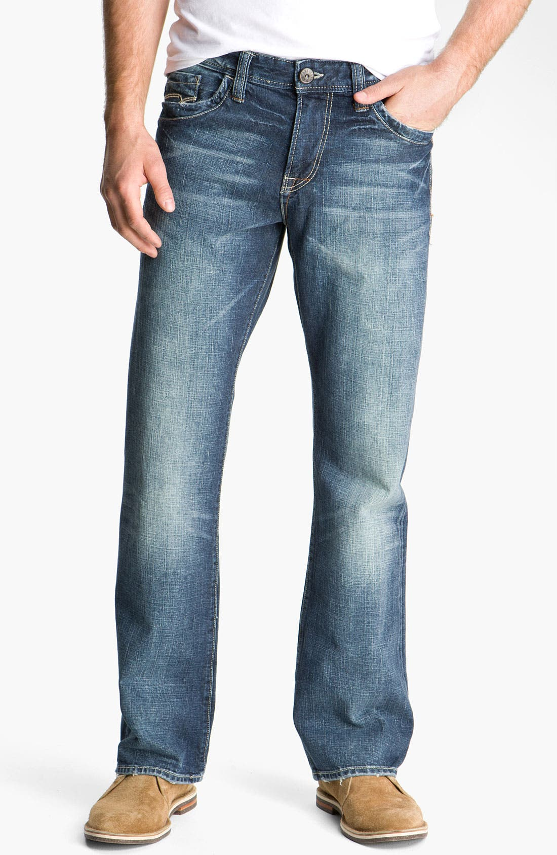 Alternate Image 1 Selected - Mavi Jeans 'Matt' Relaxed Fit Jeans (New York Cashmere)
