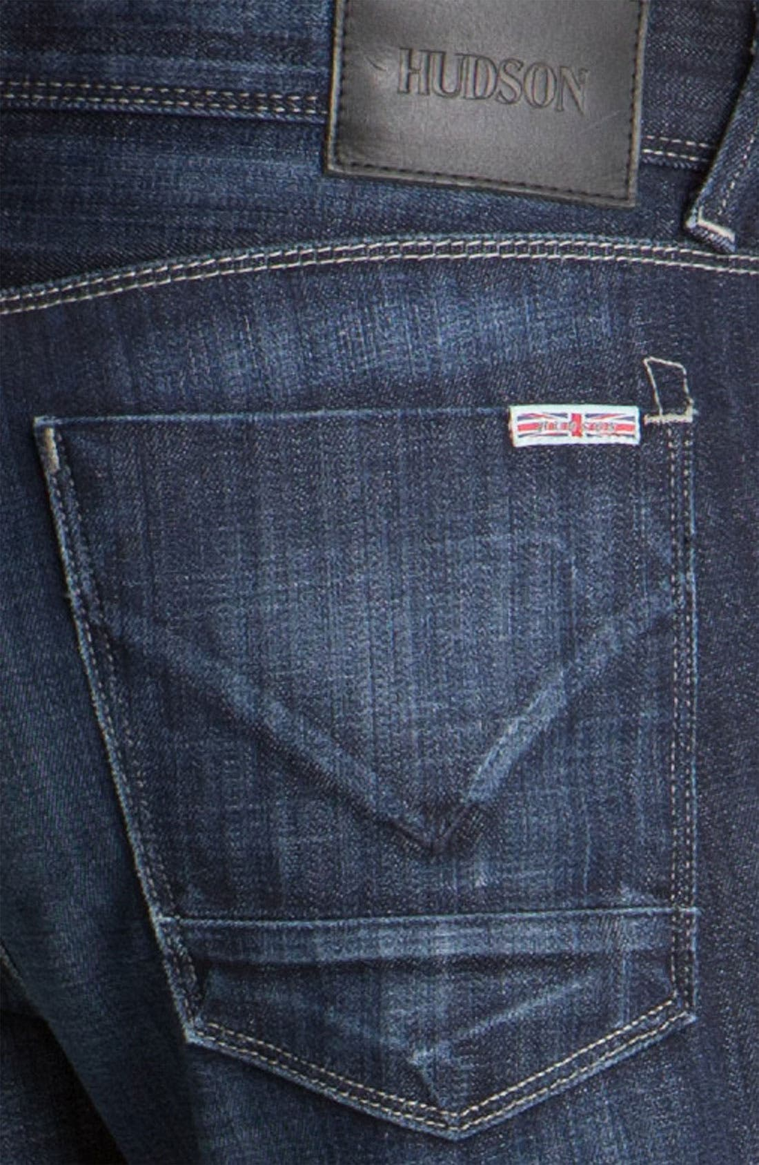 Alternate Image 4  - Hudson Jeans 'Clifton' Bootcut Jeans (Wickham)