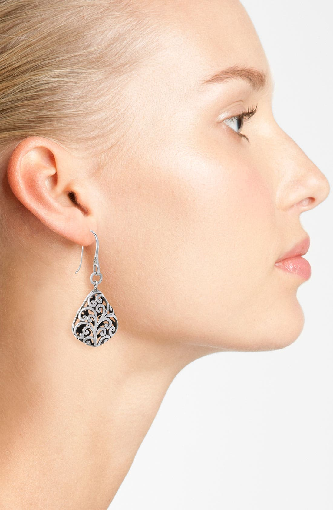 Alternate Image 2  - Lois Hill 'Cage' Diamond Shape Drop Earrings