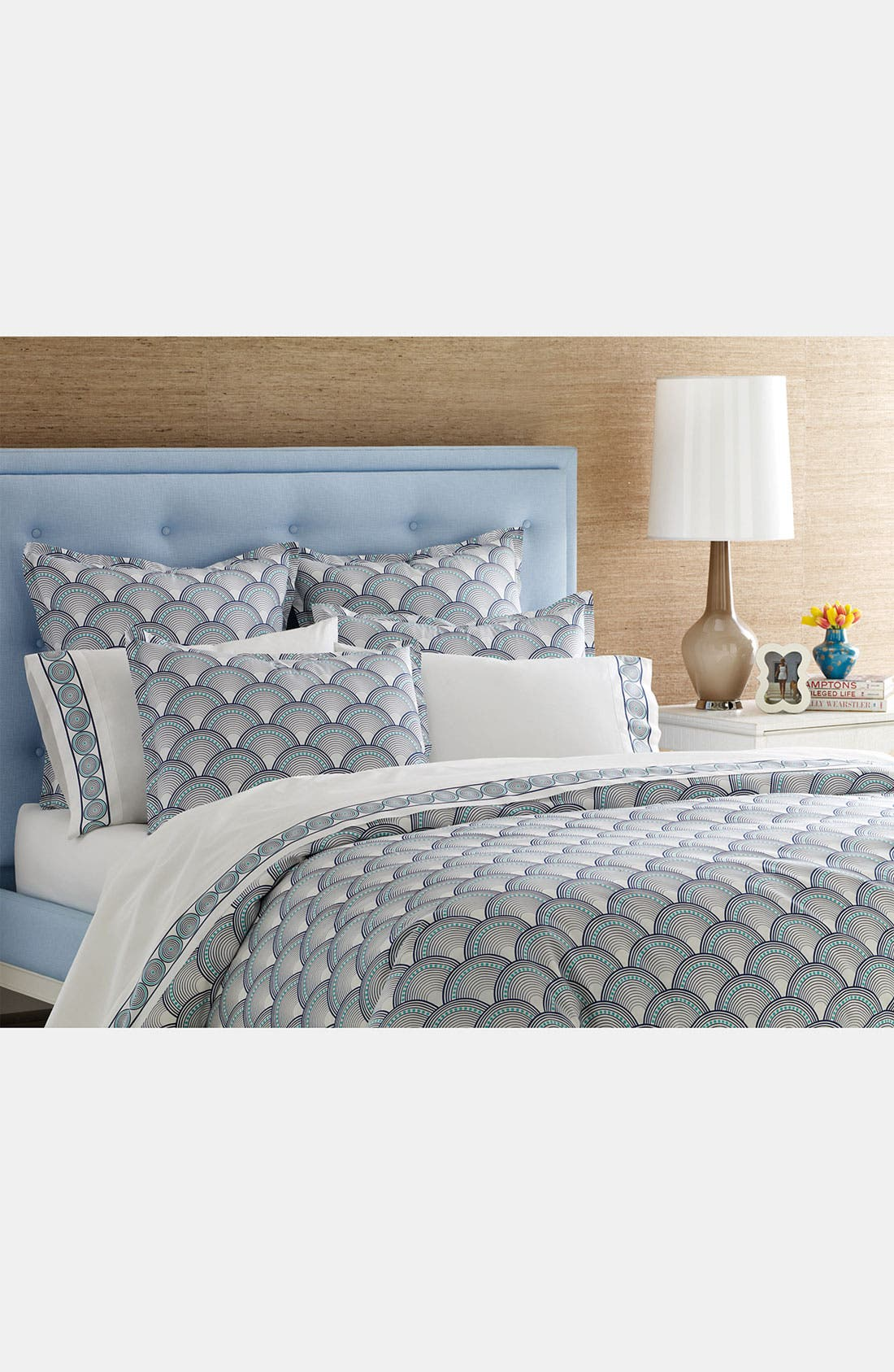 Alternate Image 2  - Jonathan Adler 'Fish Scales' 400 Thread Count Duvet Cover