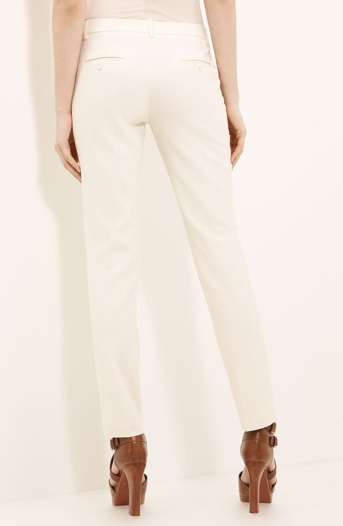 Alternate Image 2  - Michael Kors 'Samantha' Skinny Wool Serge Pants