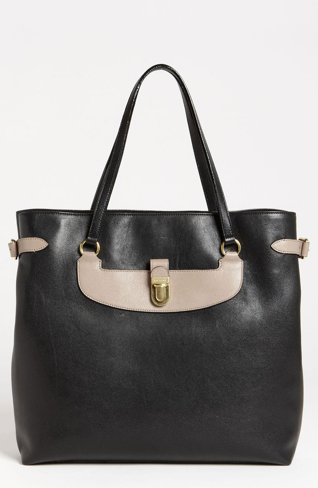Alternate Image 1 Selected - MARC JACOBS 'Colorblocked Manhattan Mercer' Leather Tote