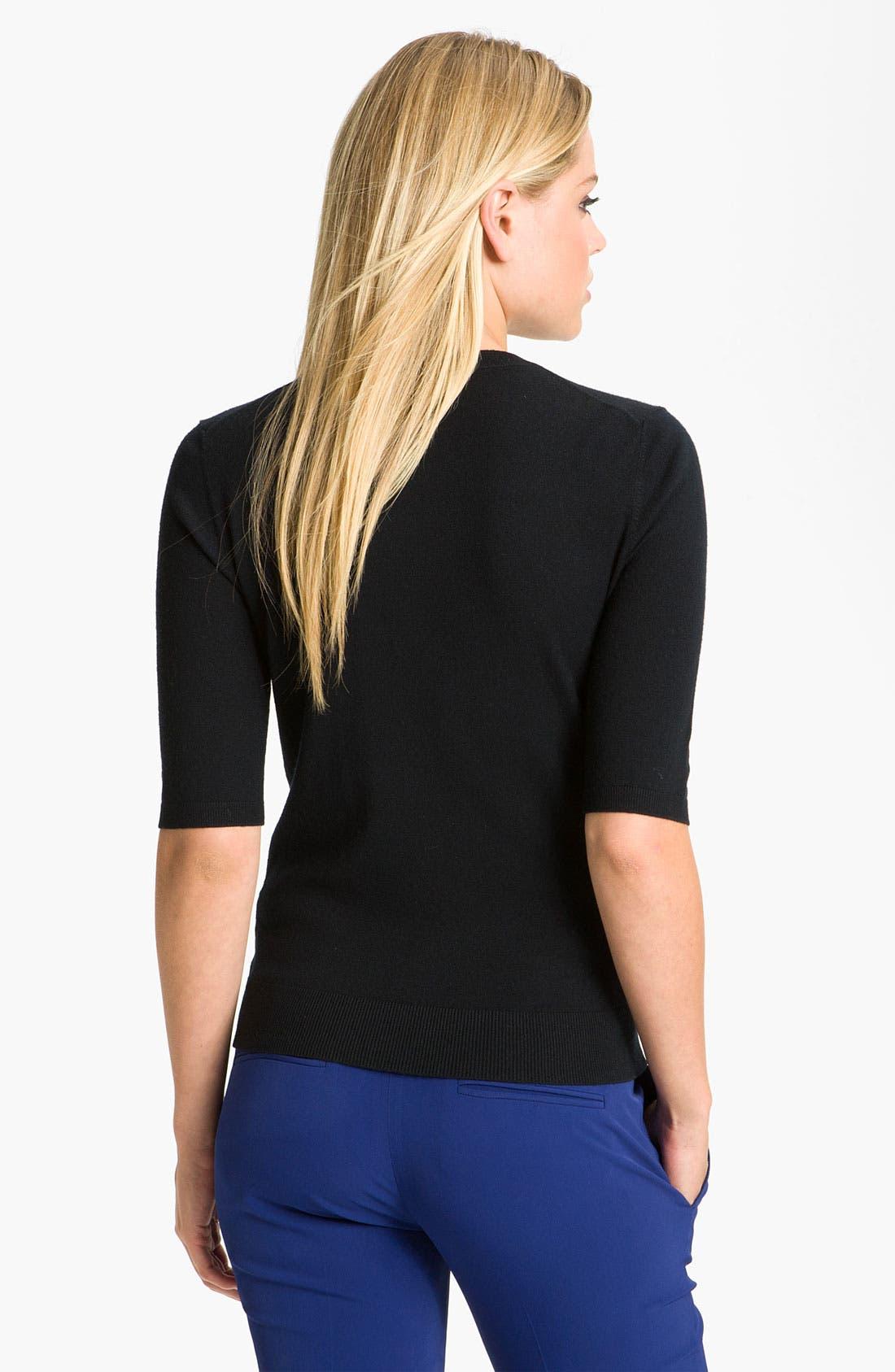 Alternate Image 2  - Theory 'Symon - Evian' Stretch Wool Sweater