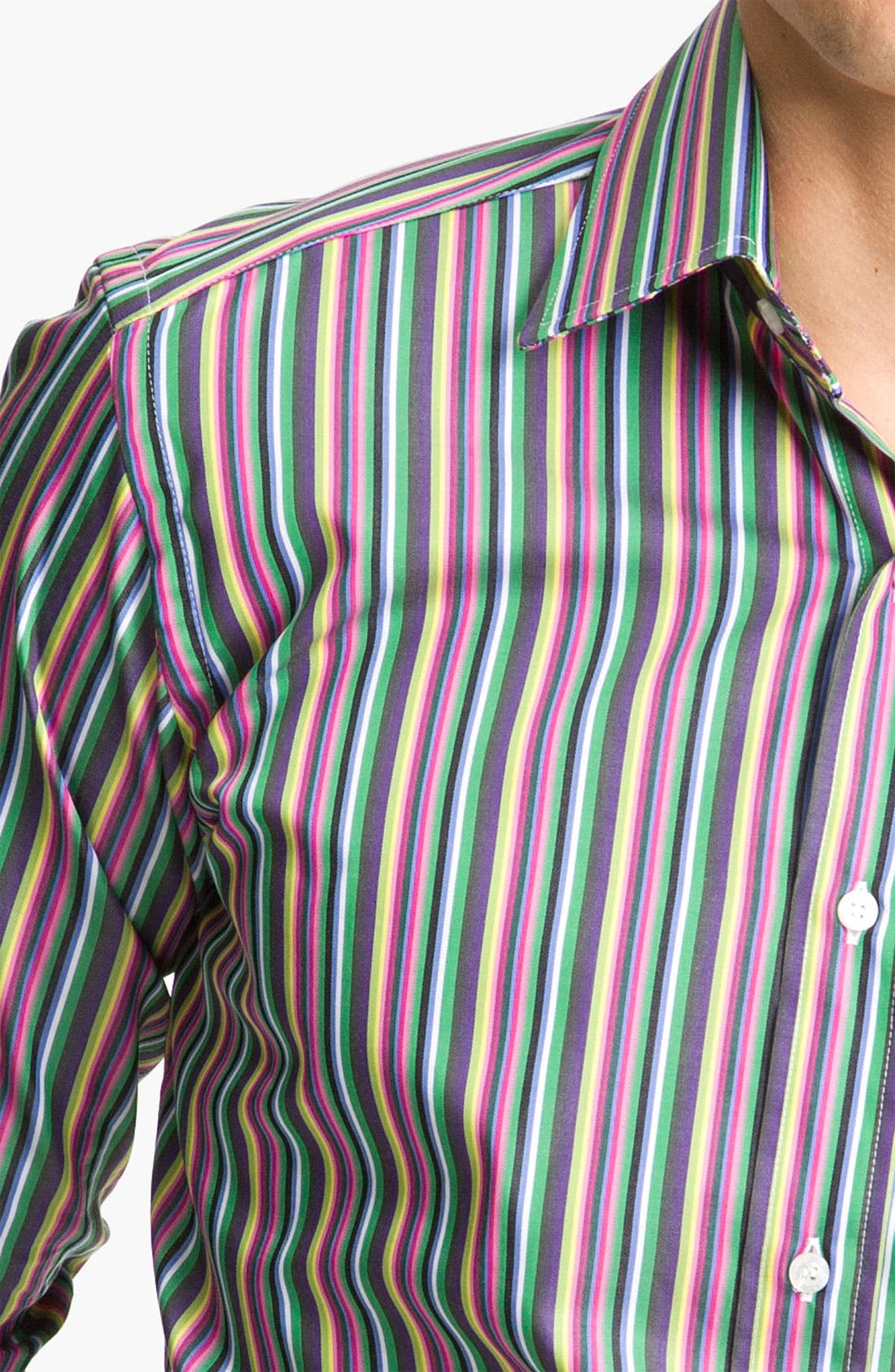 Alternate Image 4  - Etro Stripe Shirt