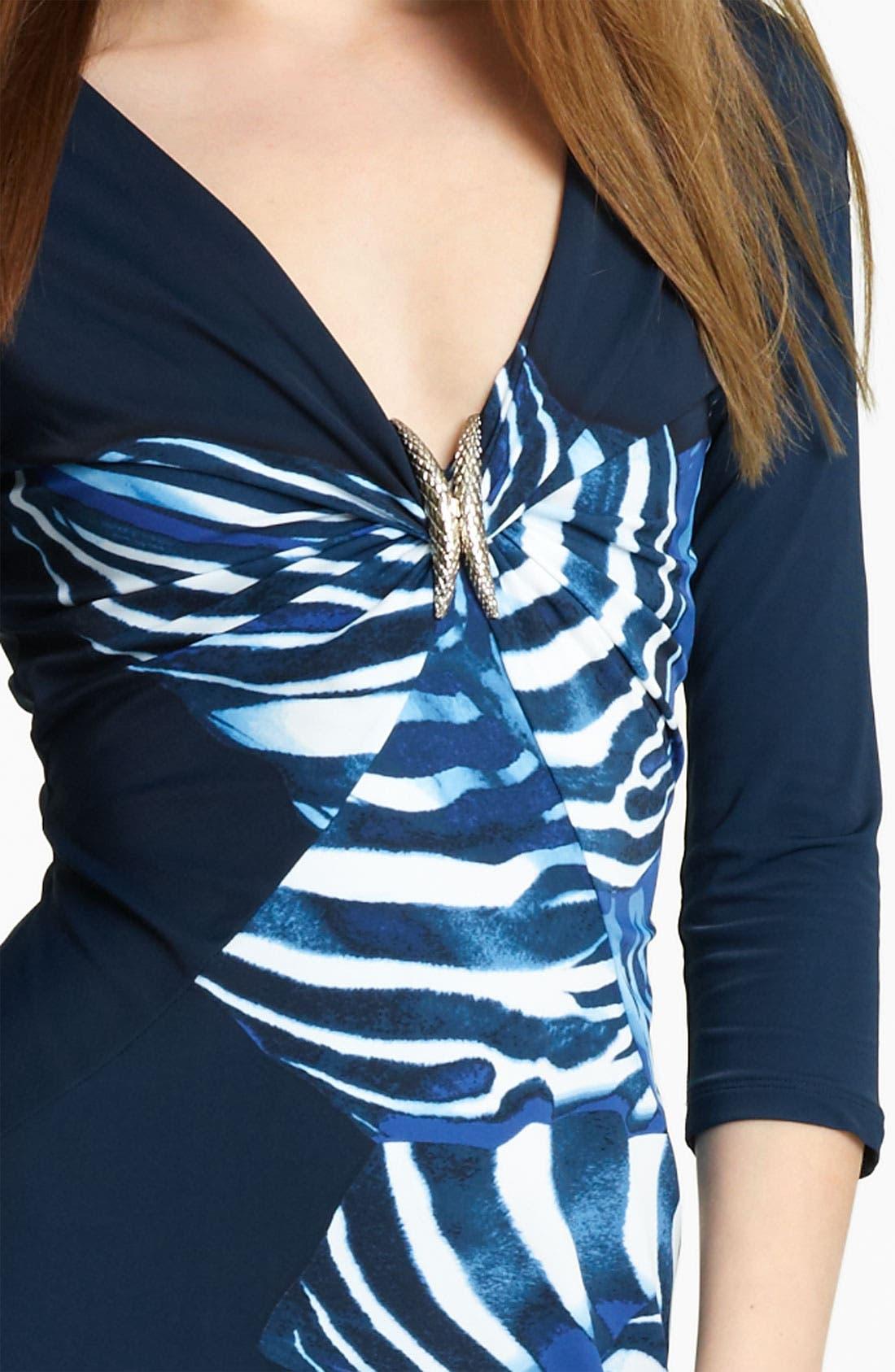 Alternate Image 3  - Roberto Cavalli Zebra Print Dress