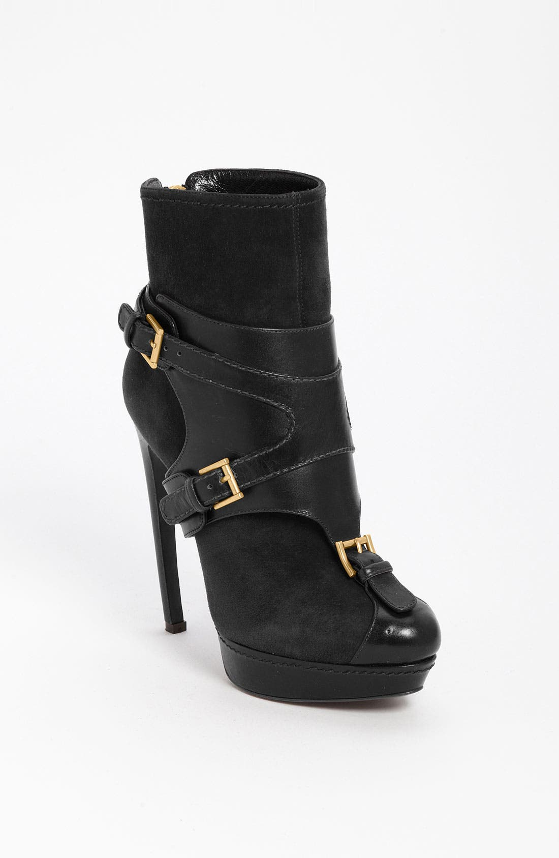 Alternate Image 1 Selected - Alexander McQueen Harness Ankle Boot