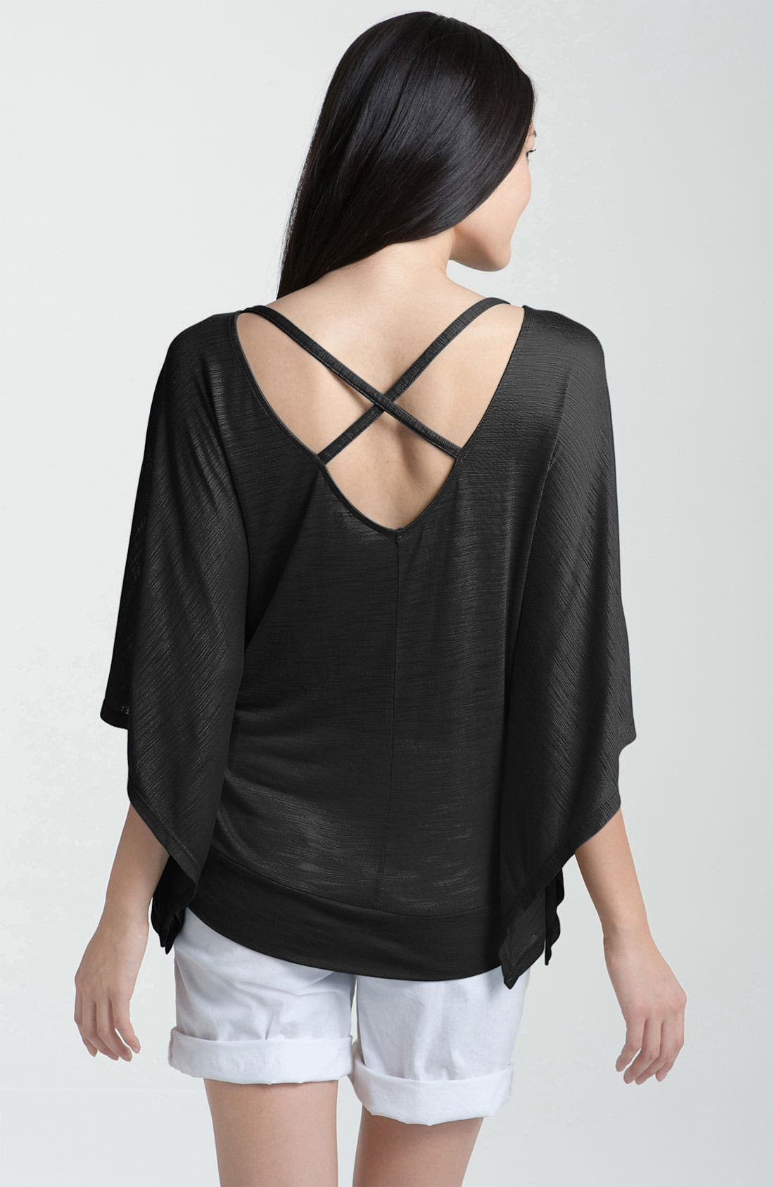 Alternate Image 1 Selected - Caslon® Crisscross Back Tee