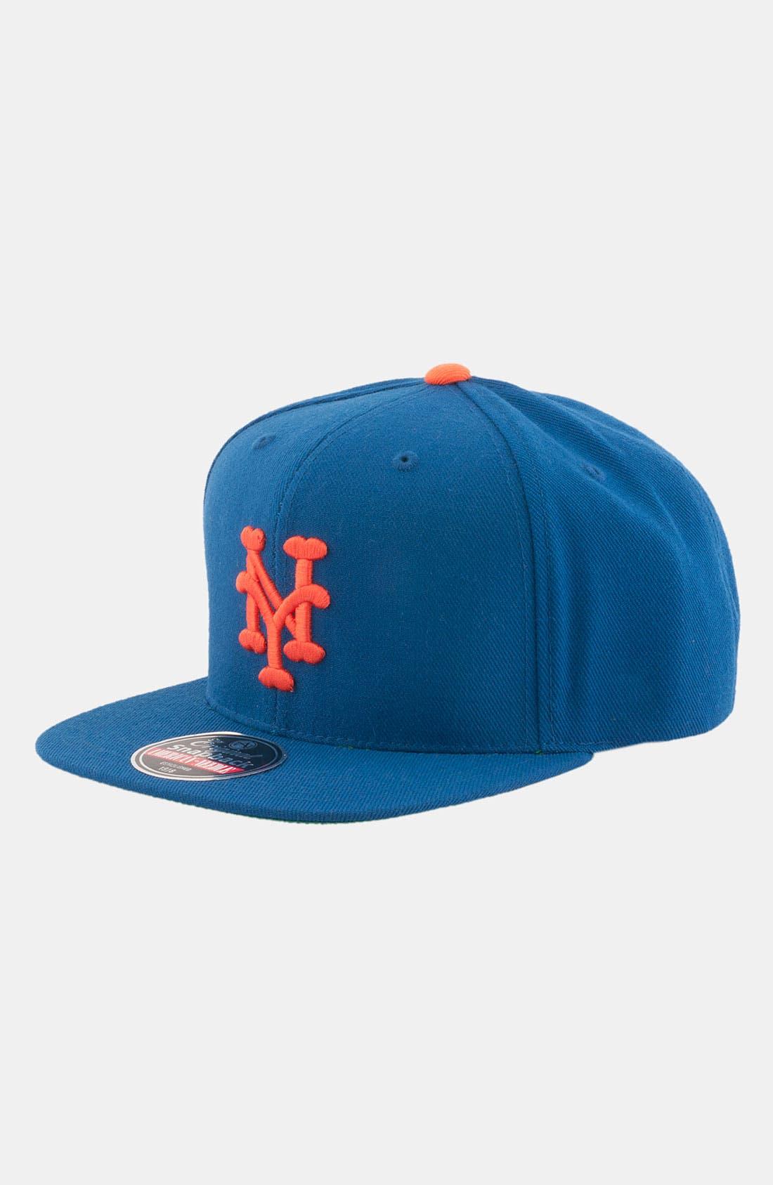 Alternate Image 1 Selected - American Needle 'New York Mets - Cooperstown' Snapback Baseball Cap