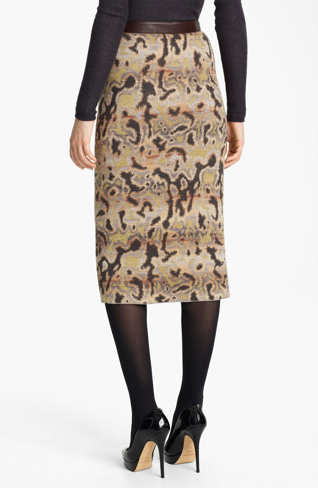 Alternate Image 2  - Missoni Marble Stitch Pencil Skirt