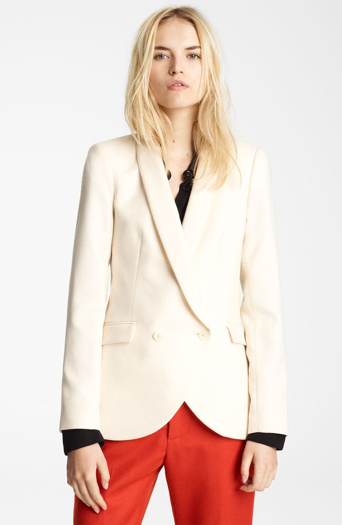 Alternate Image 1 Selected - Band of Outsiders Shawl Collar Blazer