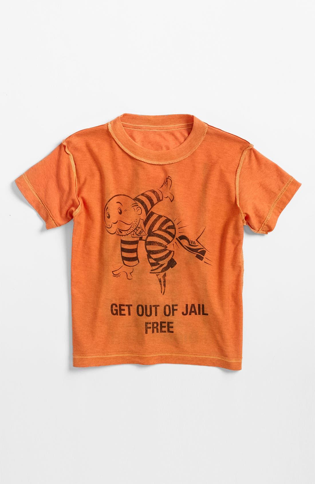 Alternate Image 2  - Jem 'Monopoly® Jail' Reversible T-Shirt (Little Boys)