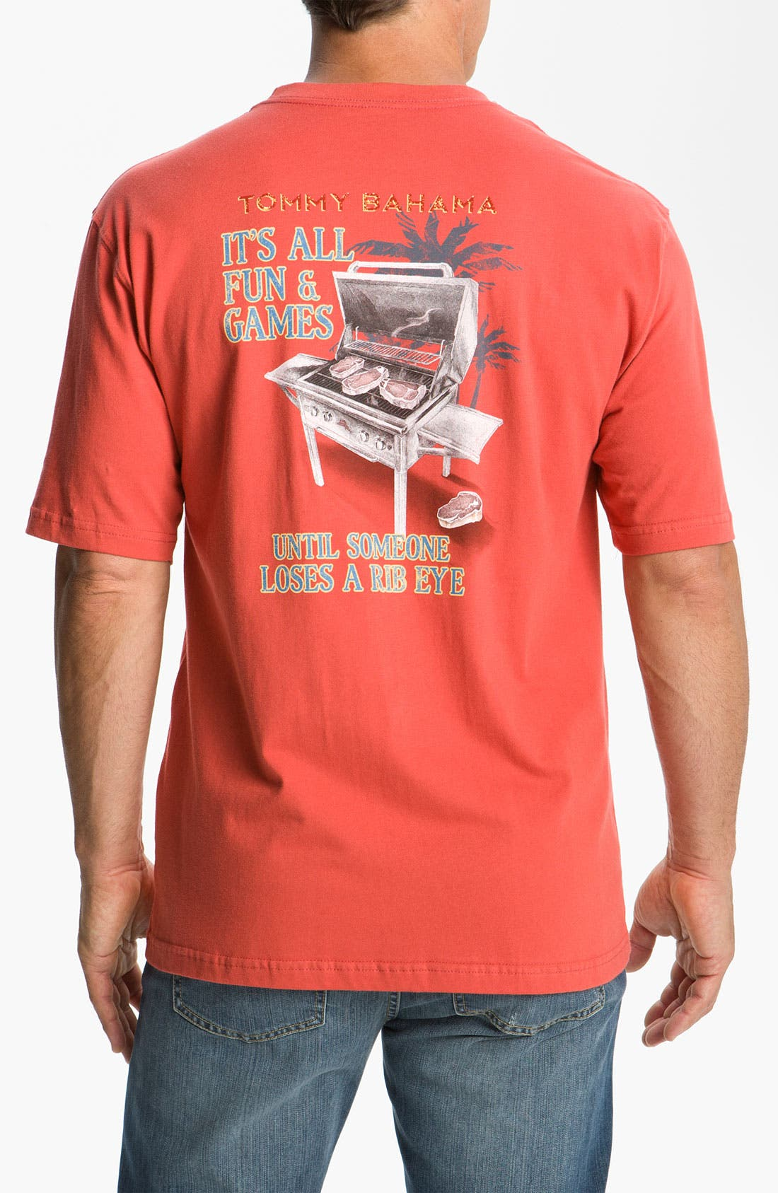 Main Image - Tommy Bahama 'It's All Fun & Games' Crewneck T-Shirt