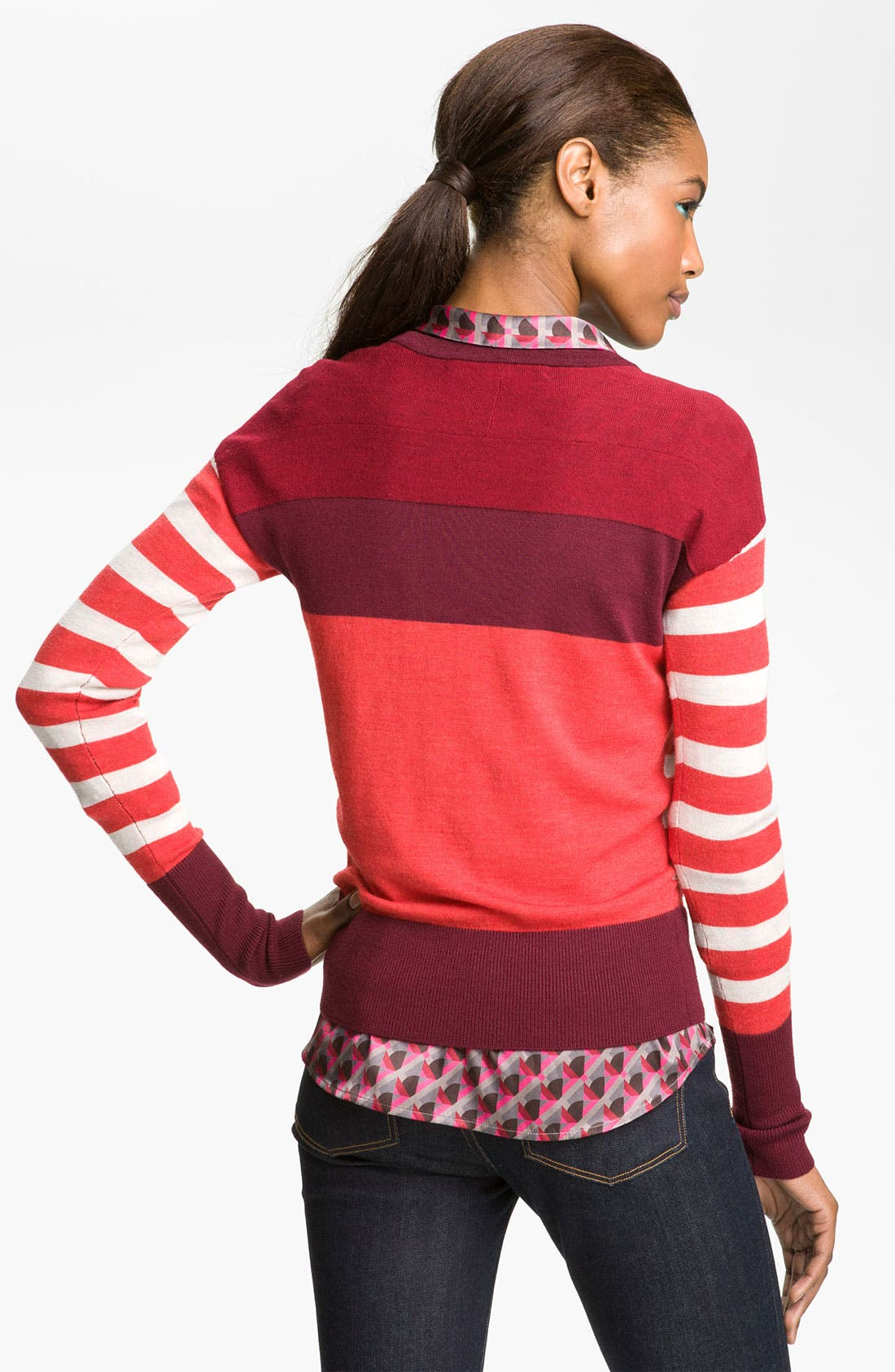 Alternate Image 2  - MARC BY MARC JACOBS 'Yasmin' Stripe Sweater