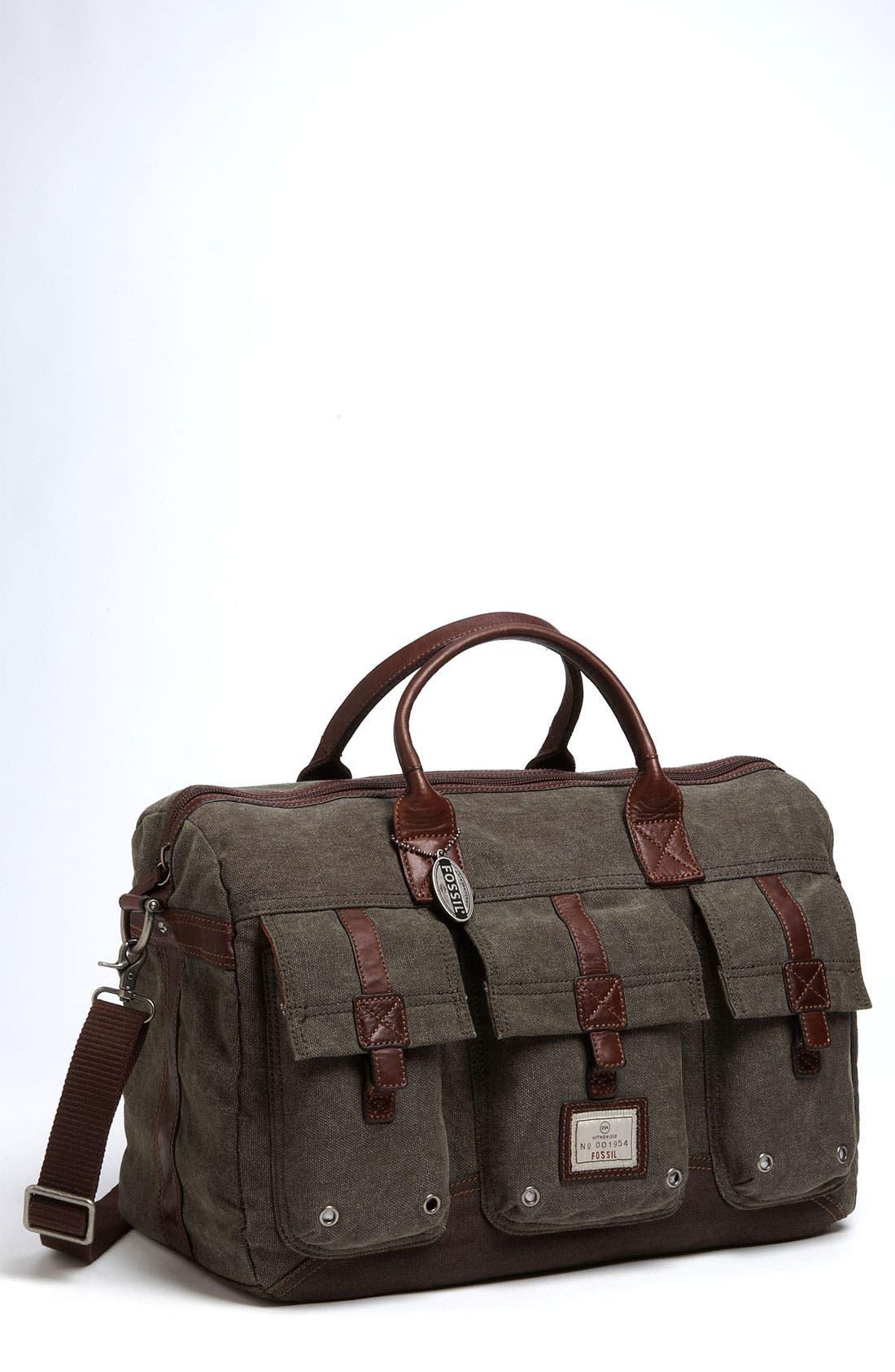 Main Image - Fossil 'Trail' Duffel Bag