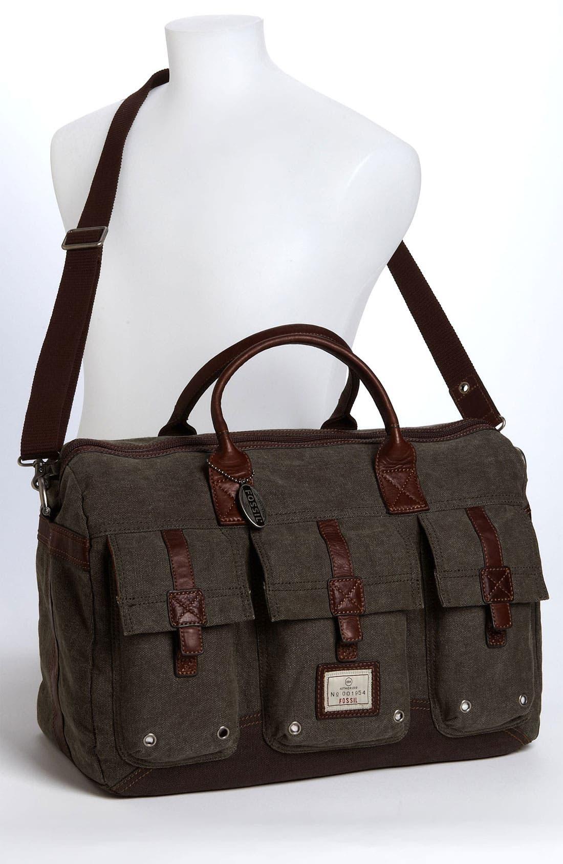 Alternate Image 4  - Fossil 'Trail' Duffel Bag