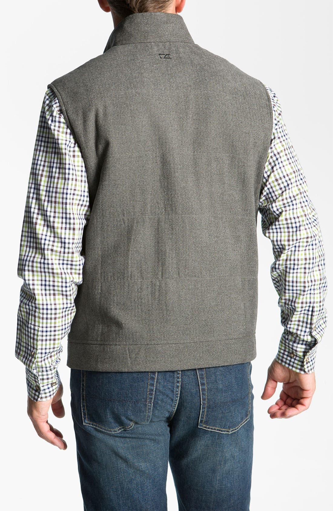 Alternate Image 2  - Cutter & Buck 'Mount Baker' Reversible Vest (Big & Tall) (Online Only)