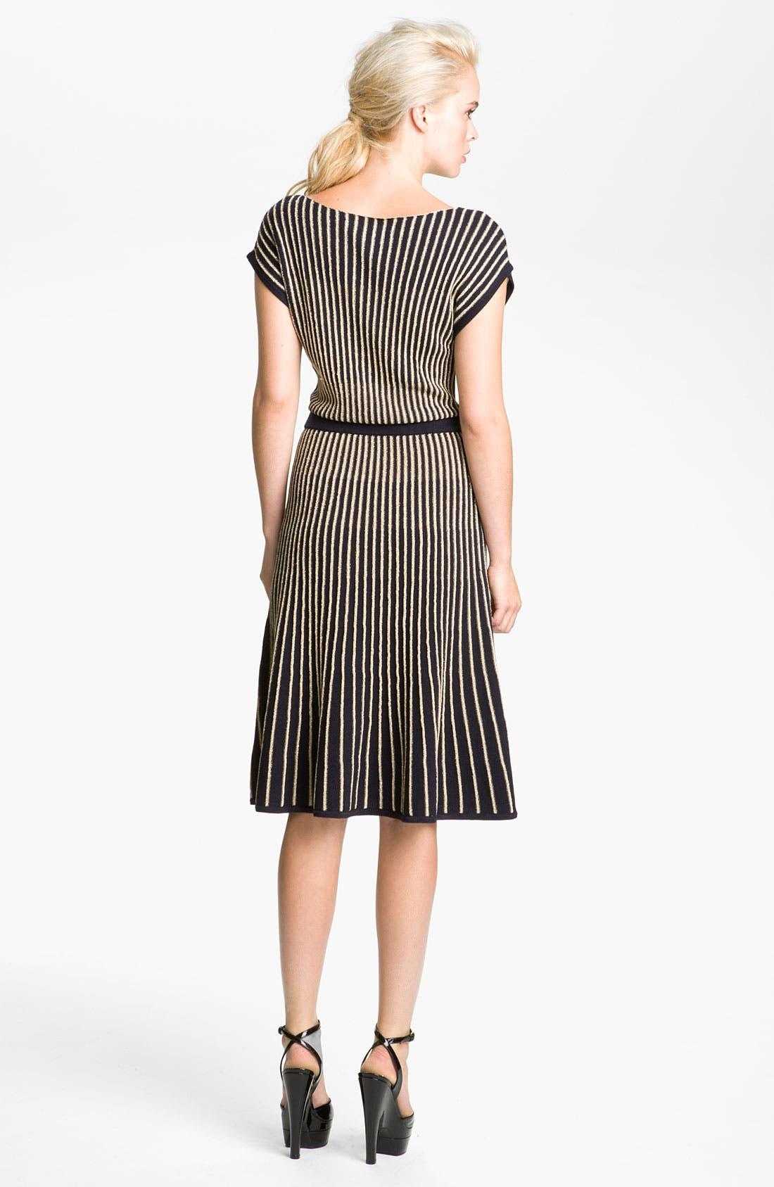 'Paulina' Sweater Dress,                             Alternate thumbnail 2, color,                             Darkest Teal Multi
