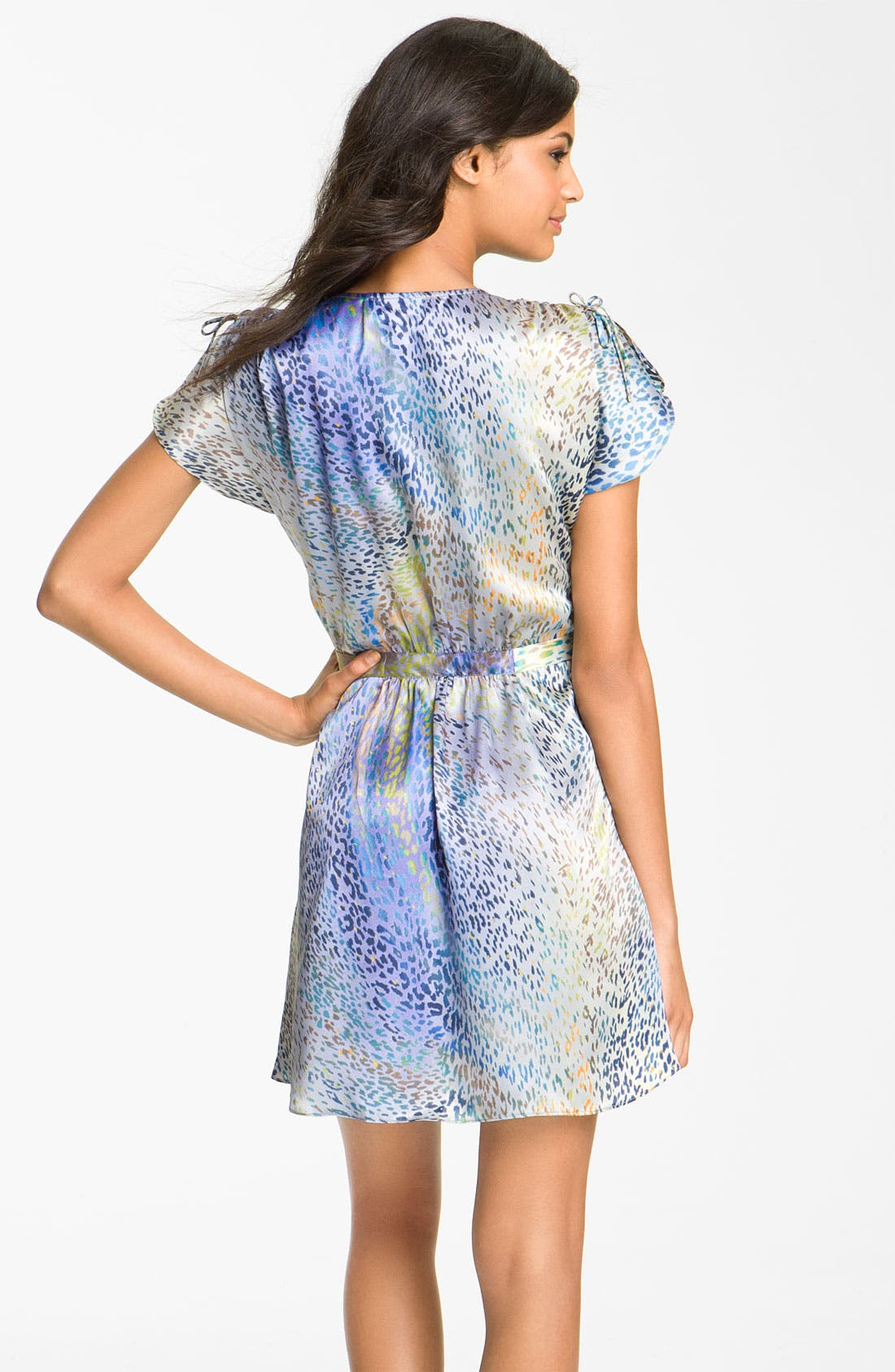 Alternate Image 2  - Oscar de la Renta Sleepwear 'Celestial Nights' Short Robe