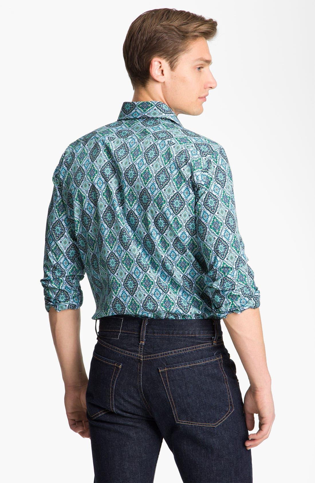 Alternate Image 2  - Etro 'Diamond' Print Shirt