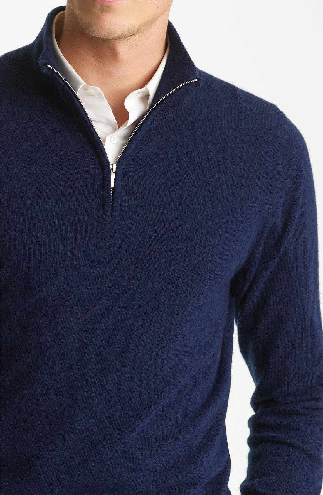 Alternate Image 3  - Pringle of Scotland Zip Neck Sweater