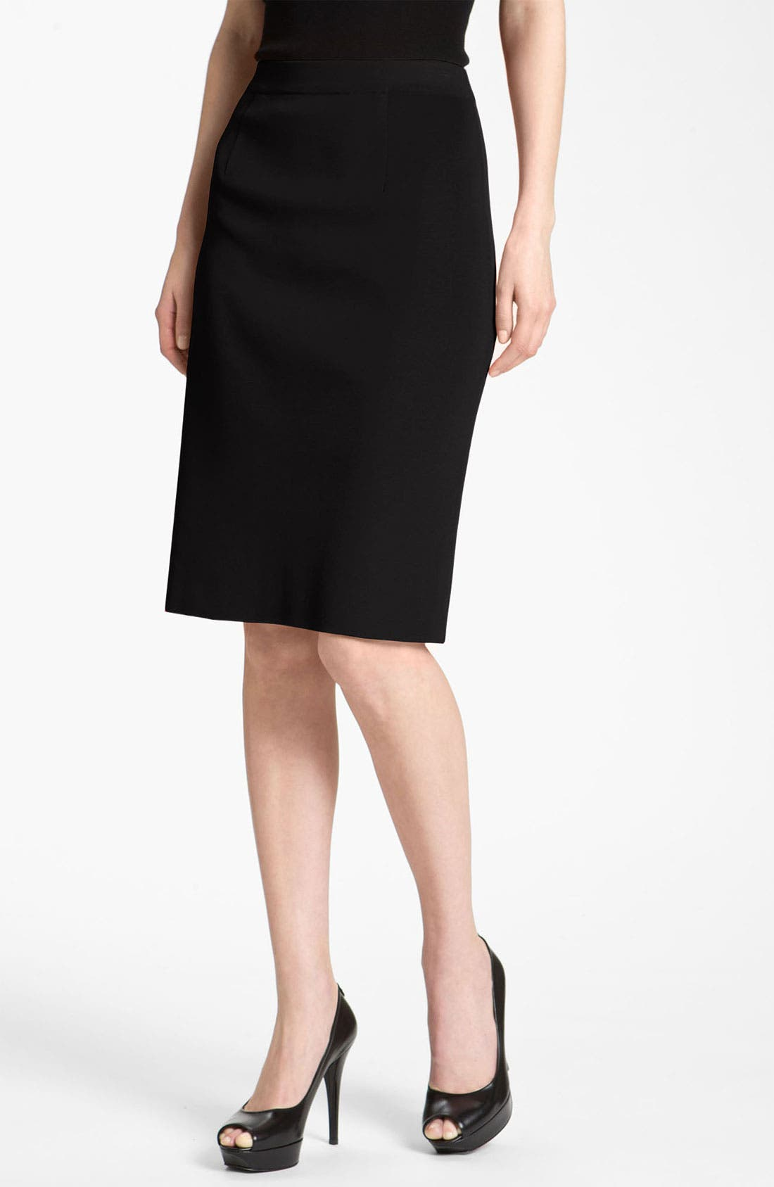 Alternate Image 1 Selected - Misook Pencil Skirt