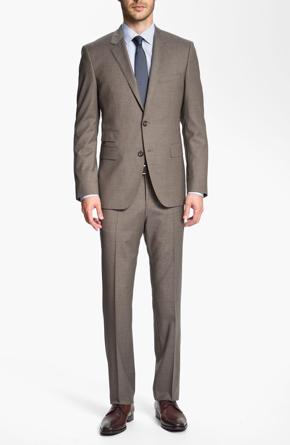 Alternate Image 2  - BOSS Black 'Sweet/Sharp' Trim Fit Suit
