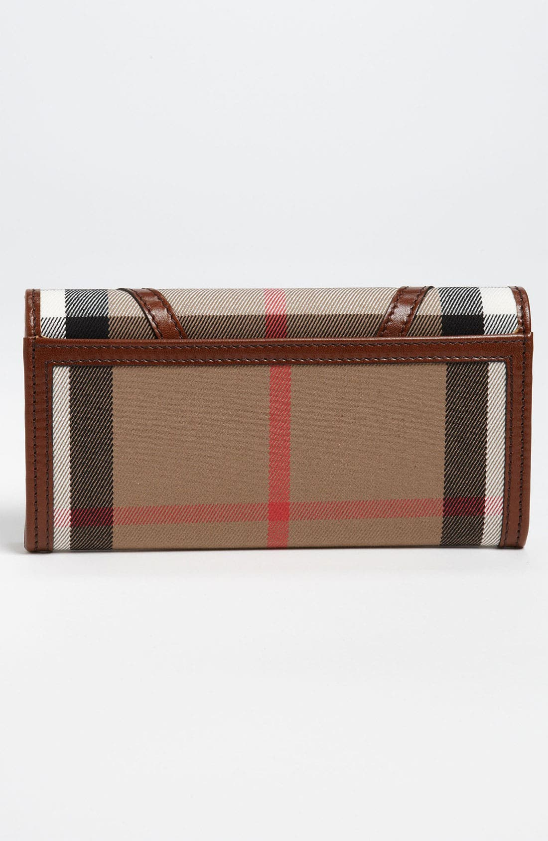 Alternate Image 3  - Burberry 'House Check' Checkbook Wallet