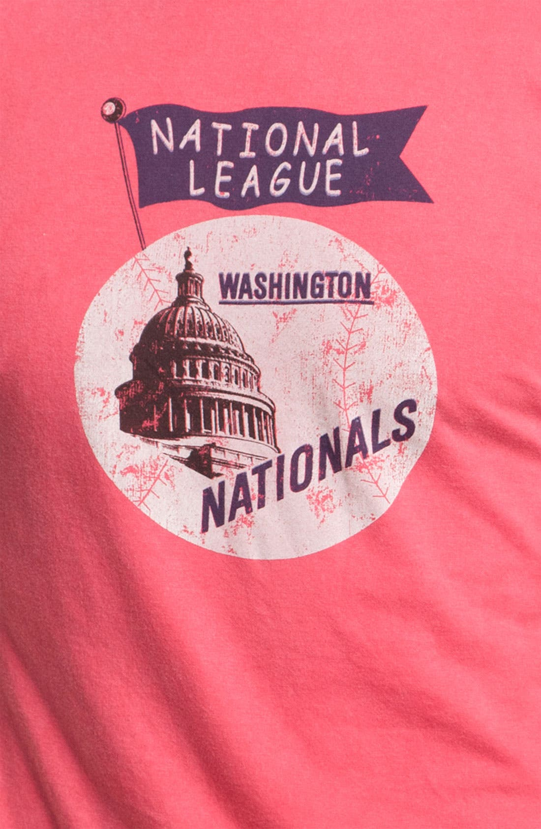 Alternate Image 3  - Red Jacket 'Nationals - Brass Tacks' T-Shirt
