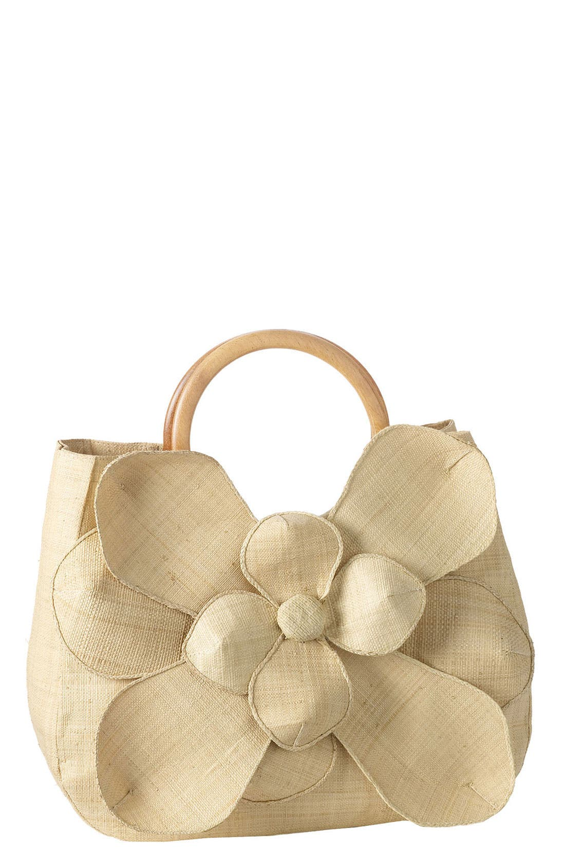 Main Image - Mar y Sol 'Guadalupe' Straw Shopper
