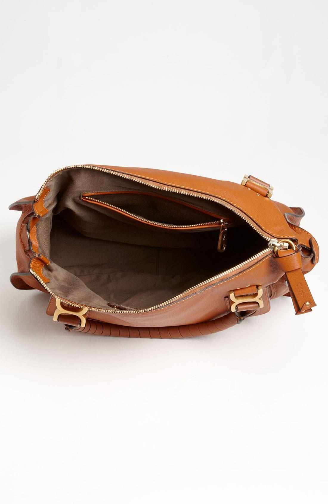 Alternate Image 4  - Chloé Large Marcie Leather Satchel