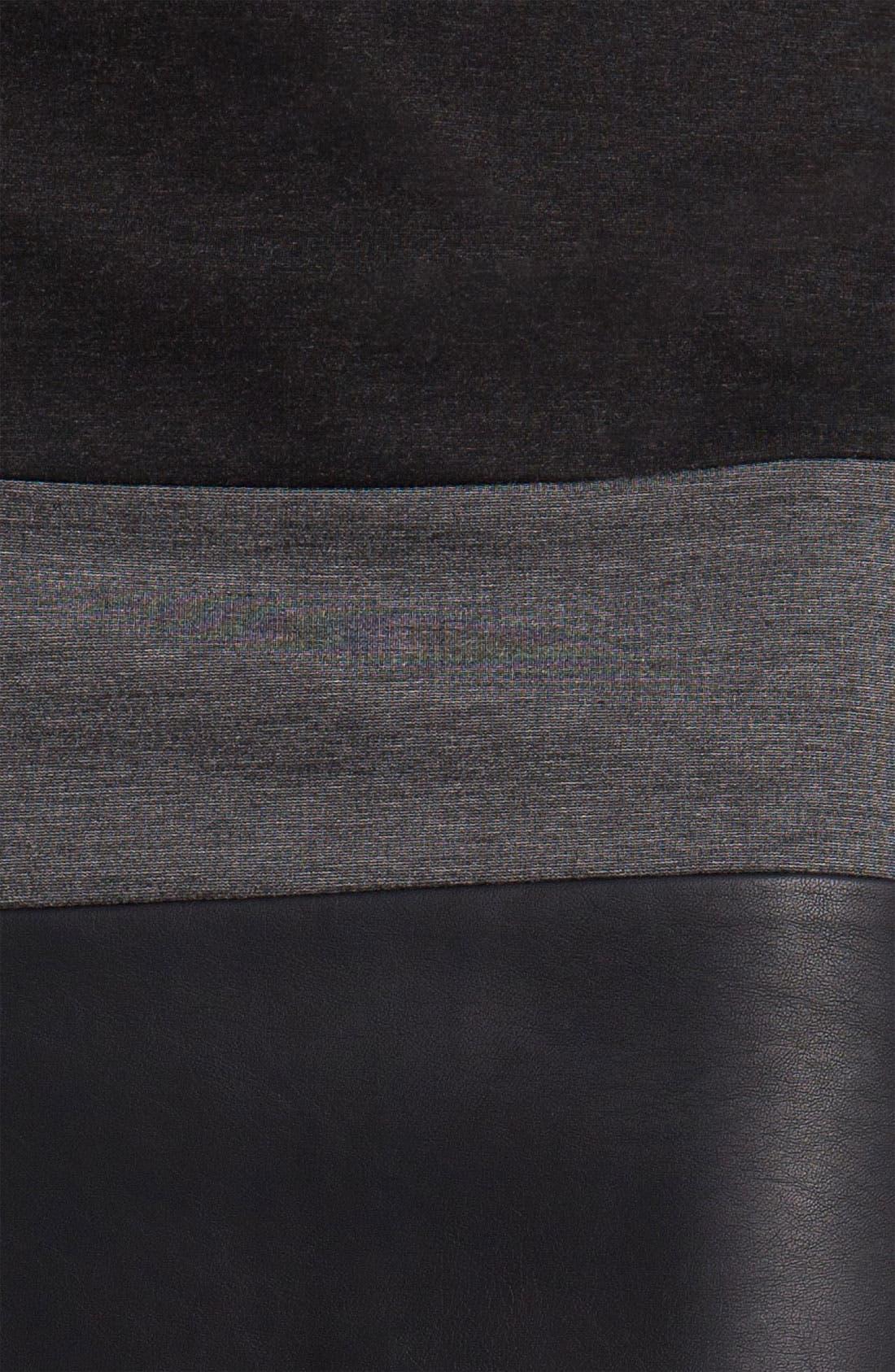 Alternate Image 3  - Halogen® Mixed Media Skirt