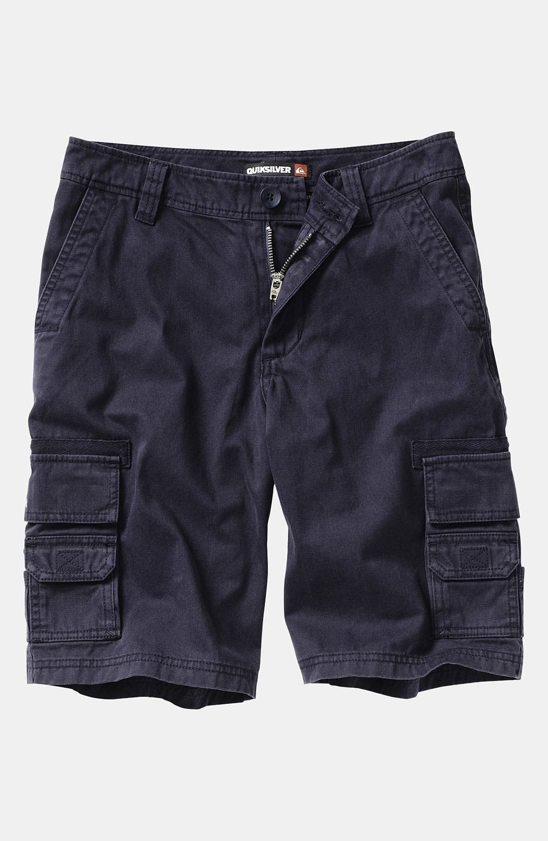 Alternate Image 1 Selected - Quiksilver 'Escargot' Cargo Shorts (Infant)
