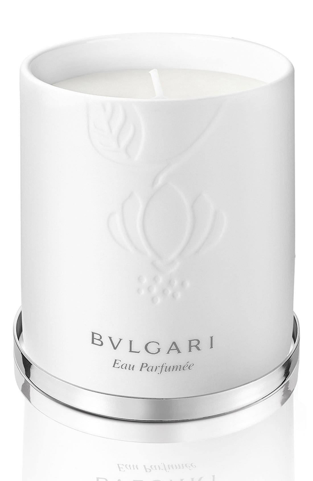 Main Image - BVLGARI 'Eau Parfumée au thé blanc' Candle