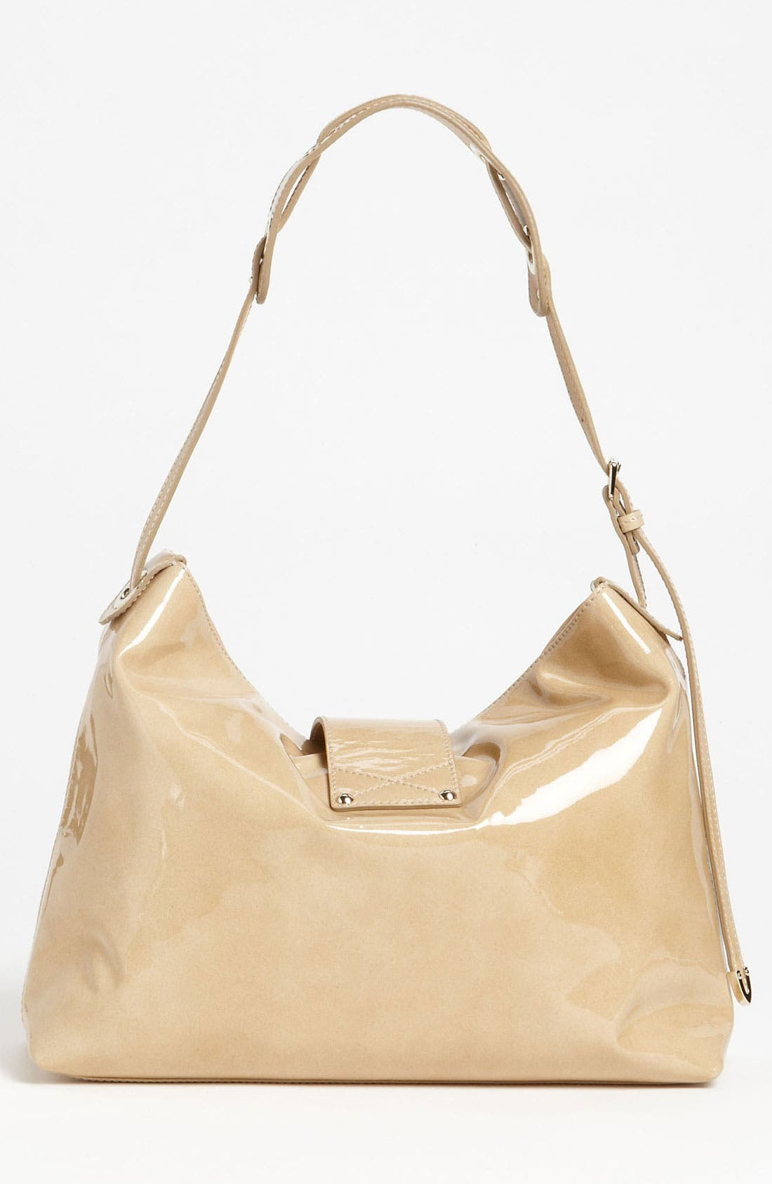 Alternate Image 4  - Jimmy Choo 'Rachel - Small' Patent Leather Shoulder Bag