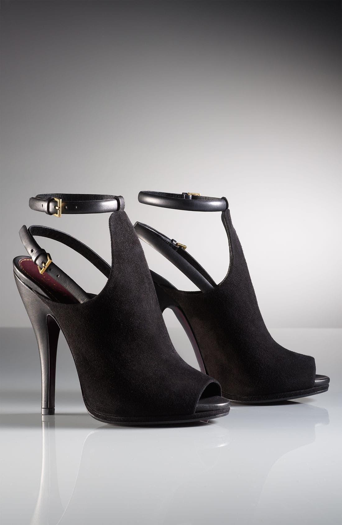 Alternate Image 5  - Gucci Open Toe Sandal Bootie