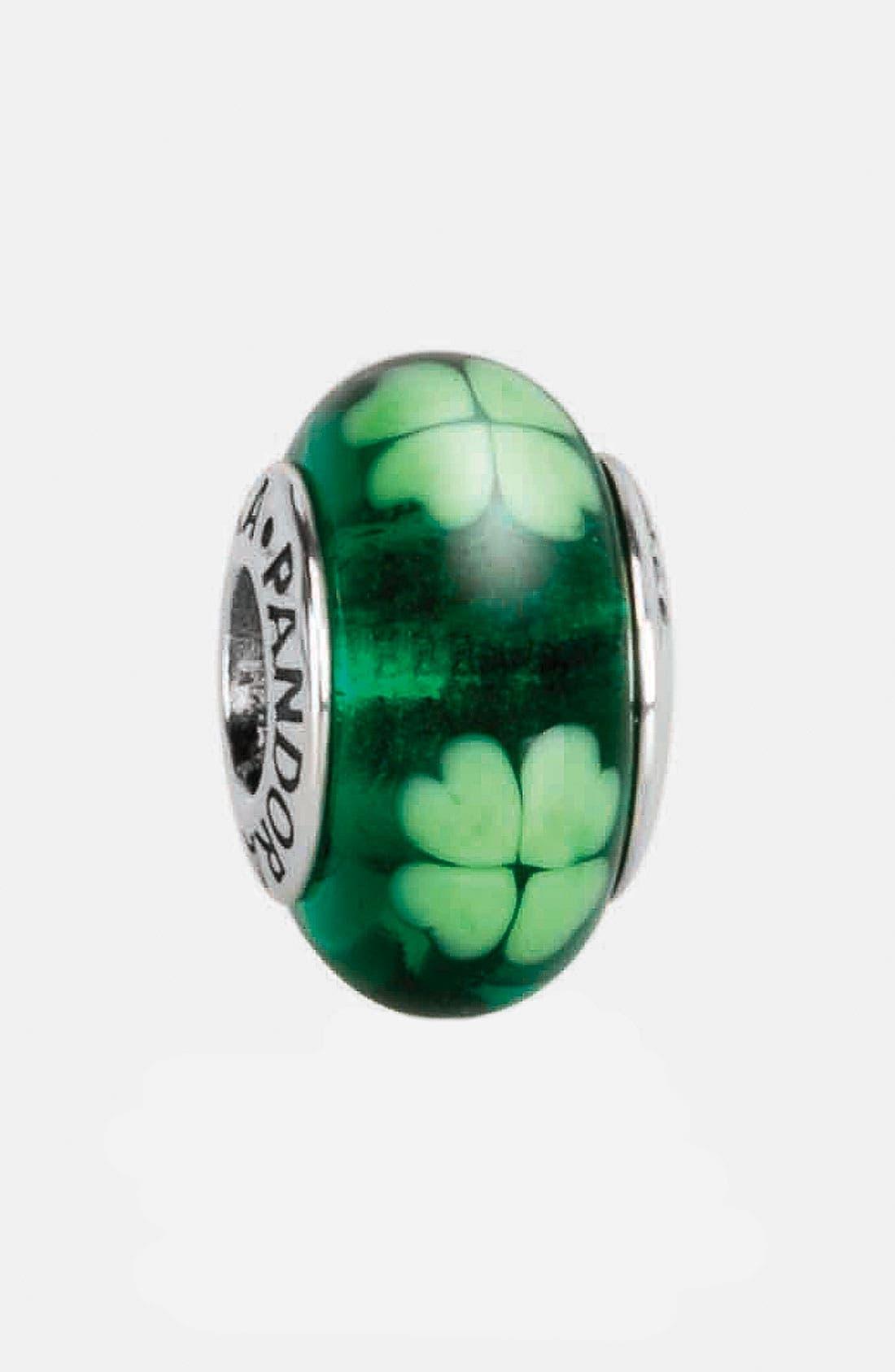 Alternate Image 1 Selected - PANDORA 'Irish' Murano Glass Charm