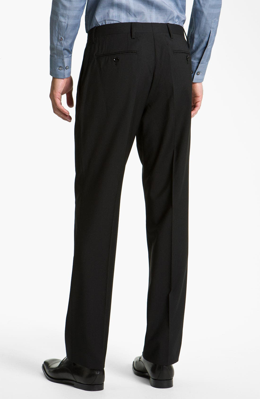 Alternate Image 5  - Burberry Trim Fit Wool Suit