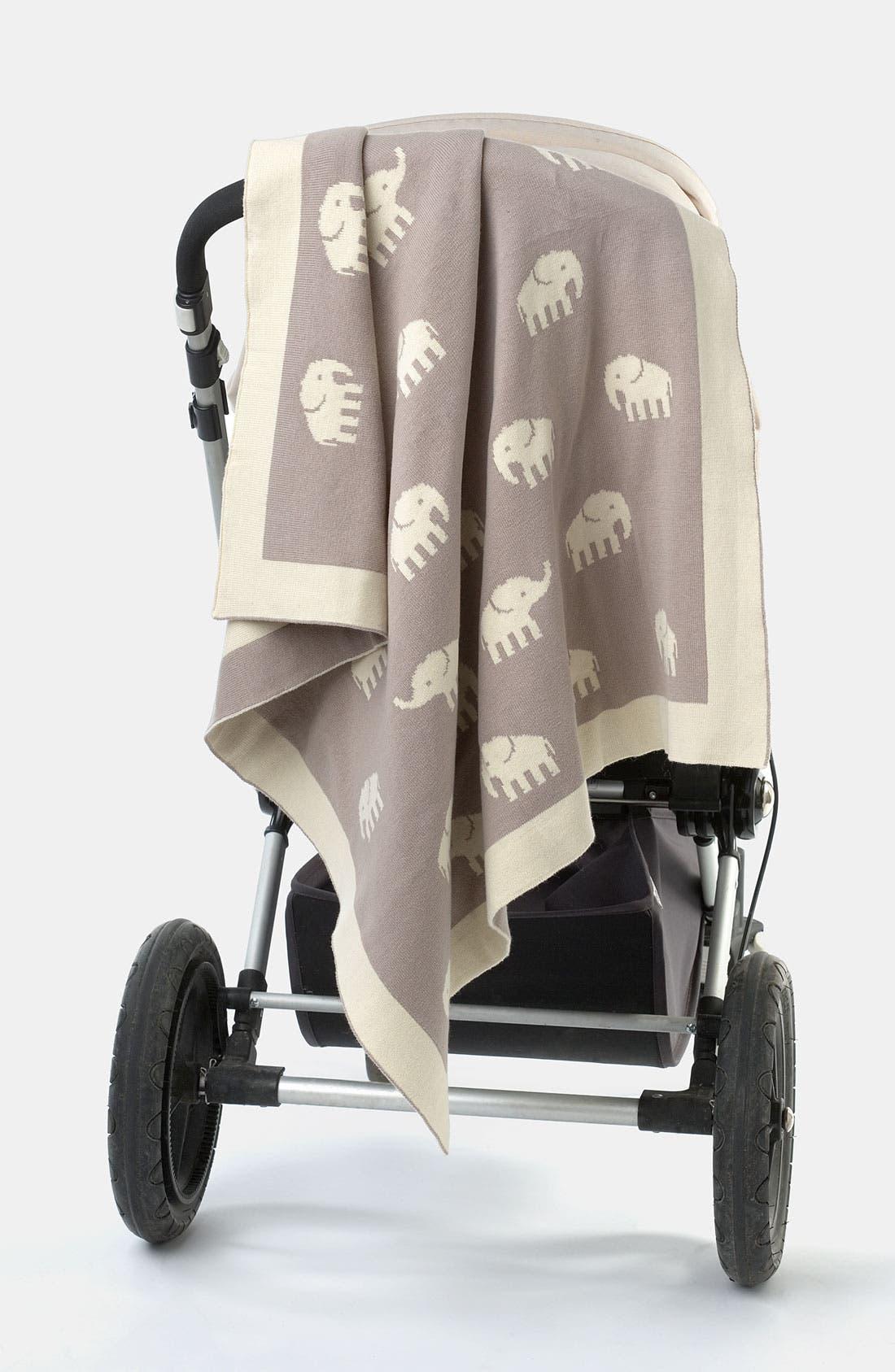 Alternate Image 2  - weegoamigo 'Taupe Stampede' Blanket