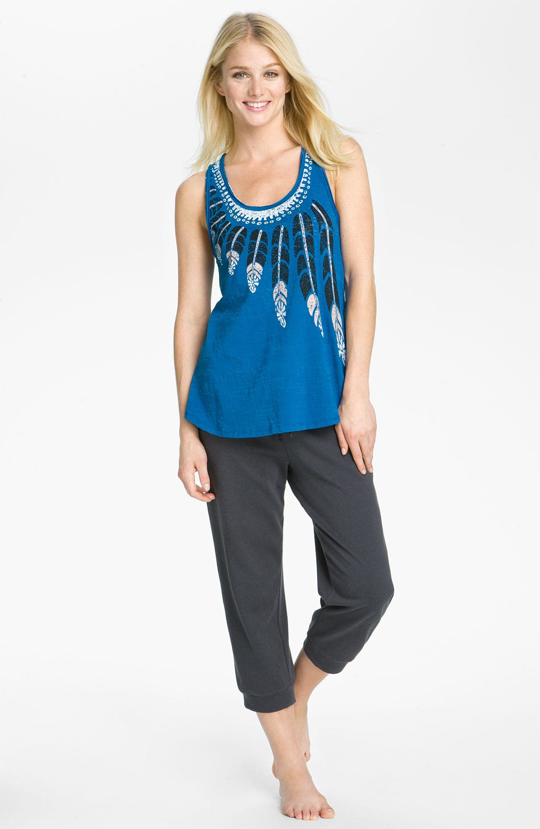 Alternate Image 6  - Steve Madden Lounge Capris
