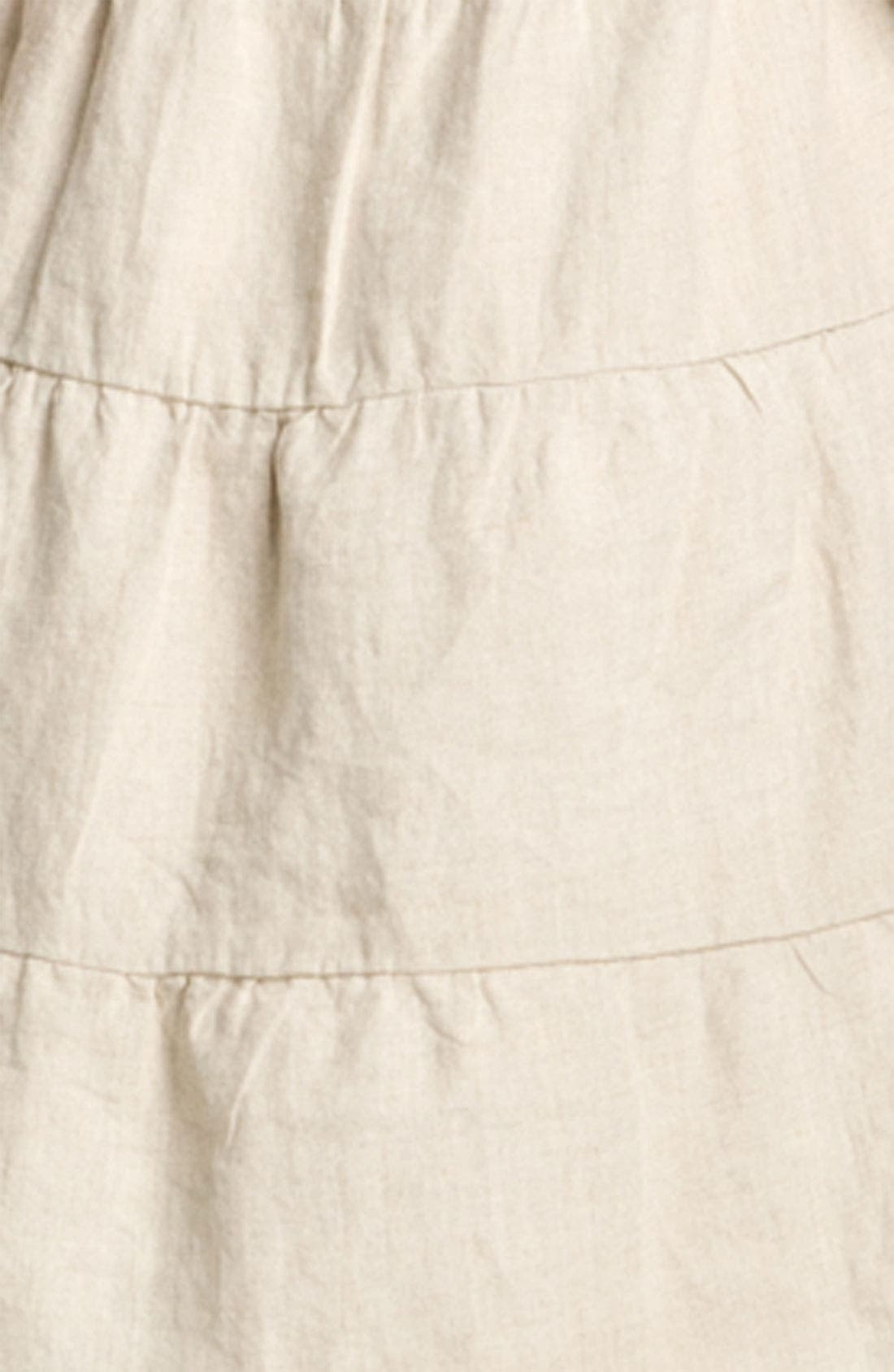 Alternate Image 3  - Allen Allen Linen Dress