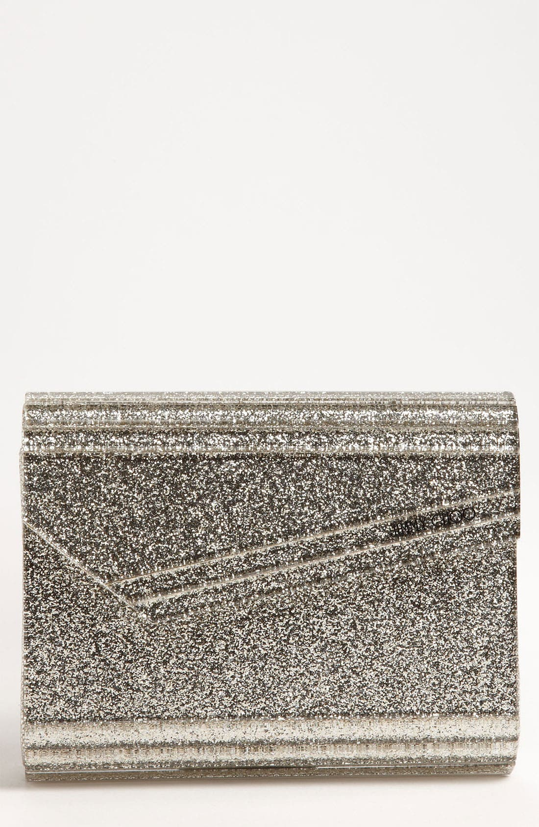 Alternate Image 1 Selected - Jimmy Choo 'Candy - Glitter' Clutch
