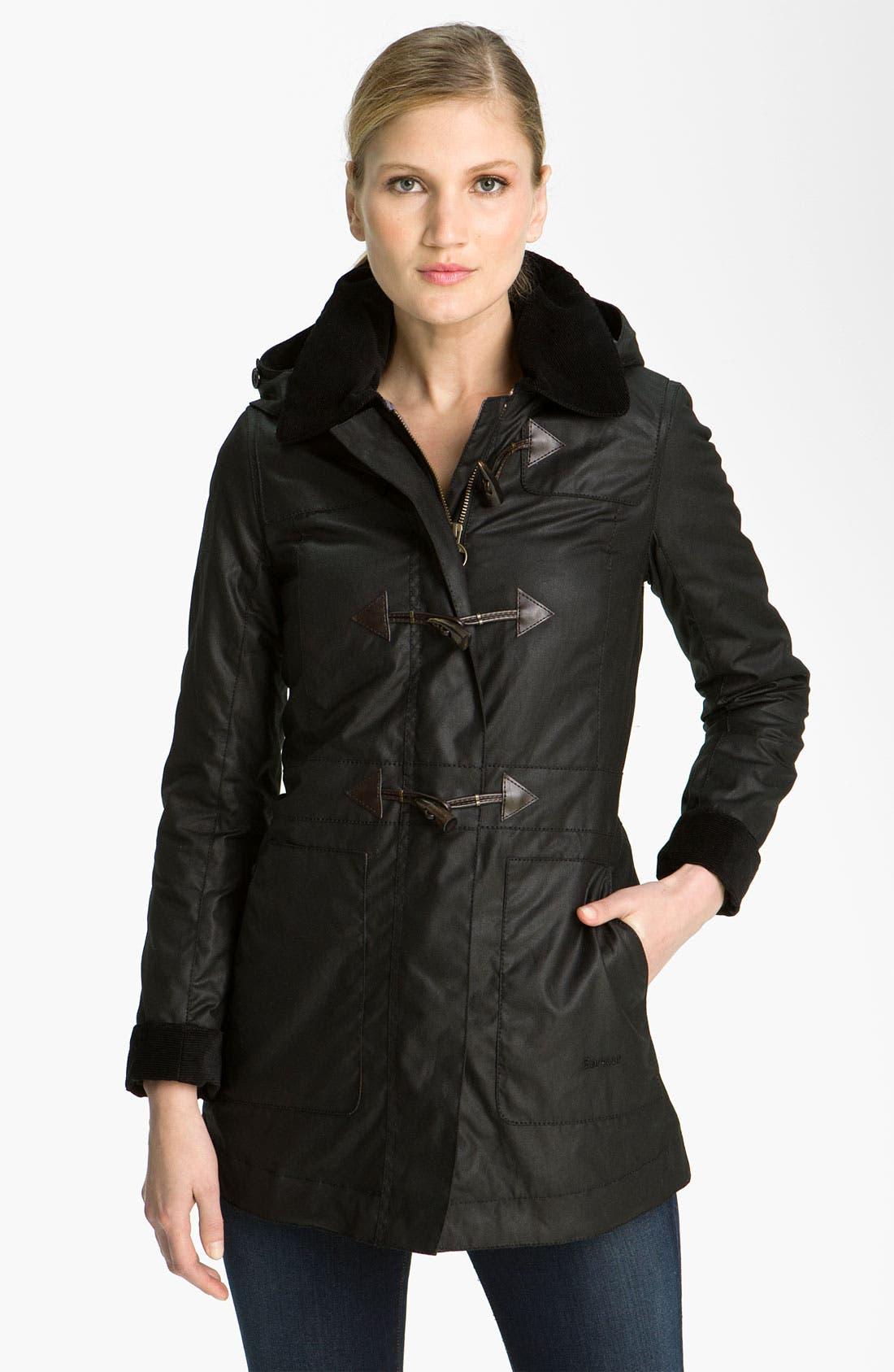 Alternate Image 1 Selected - Barbour 'Buttermere' Waterproof Duffle Coat (Online Exclusive)