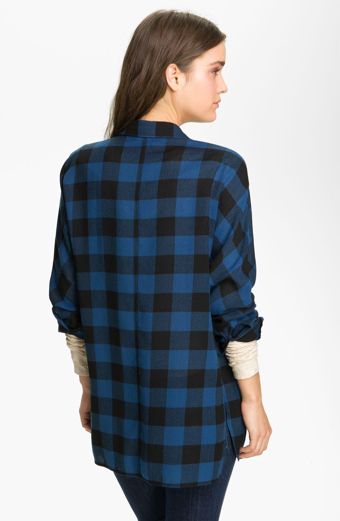 Alternate Image 2  - Trouvé Buffalo Plaid Shirt